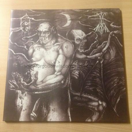 "FHOI MYORE/WYRMS split 12""LP"