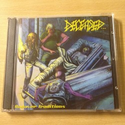 """DECEASED """"Cadaver Traditions"""" 2CD"""