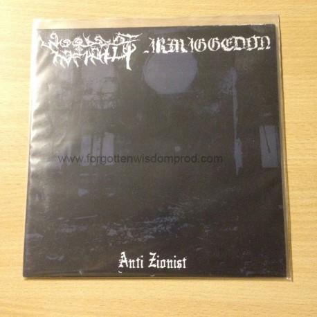 """ARMAGGEDON/WOODS OF INFINITY split 7""""EP"""