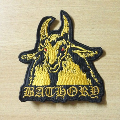 BATHORY goat shaped patch