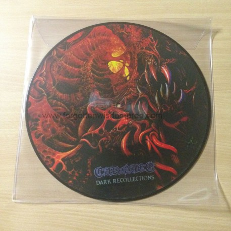 """CARNAGE """"Dark Recollections"""" 12""""PIC LP"""