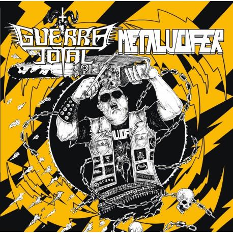 GUERRA TOTAL/METALUCIFER split CD
