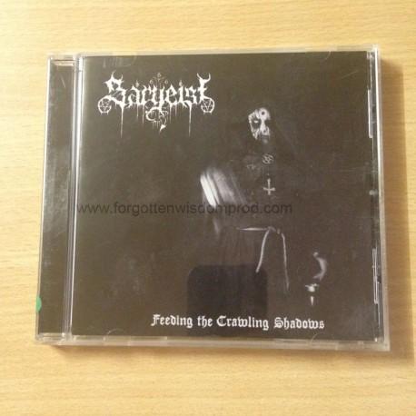 """SARGEIST """"Feeding the Crawling Shadows"""" CD"""