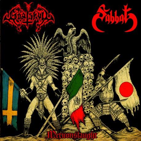 "SABBAT/GOATSKULL ""Mexiconslaught"" split 7""EP"