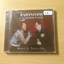 "AXECUTER ""Metal is Invincible"" CD"