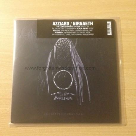 "AZZIARD/NIRNAETH split 7""EP"