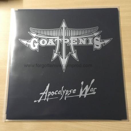 "GOATPENIS ""Apocalyspe War"" 12""LP"