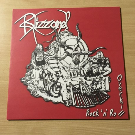"BLIZZARD ""Rock n'Roll Overkill"" 12""LP"