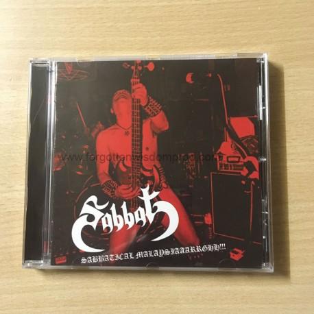 """SABBAT """"Sabbatical Malaysiaaarrghh!!!"""" CD"""