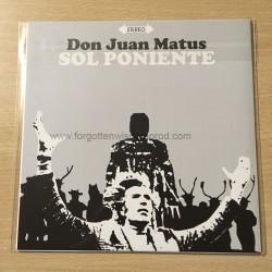 "ANGEL OF DAMNATION/DON JUAN MATUS split 7""EP"