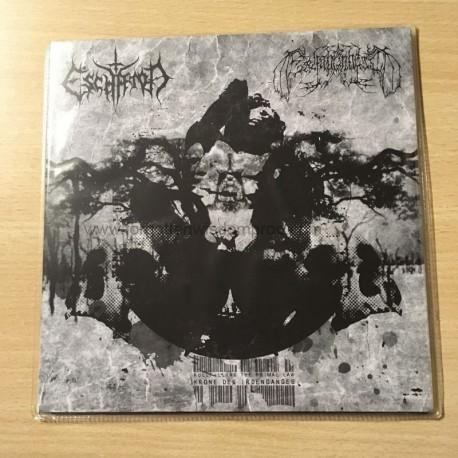 "ESCHATON/ERHABENHEIT split 7""EP"