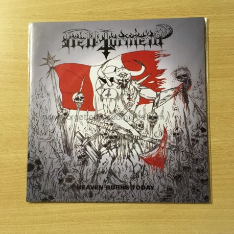 "HELL TORMENT ""Heaven Burns Today"" 7""EP"