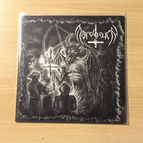 "MORDGRUND/GRIMNIR split 7""EP"