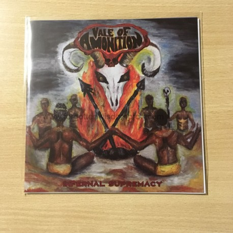 "VALE OF AMONITION ""Infernal Supremacy"" 7""EP"