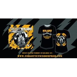 GUERRA TOTAL/METALUCIFER CD + Tshirt