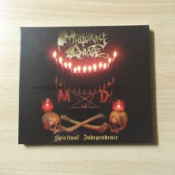 "MORTUARY DRAPE ""Spiritual Independence"" Digipack CD"