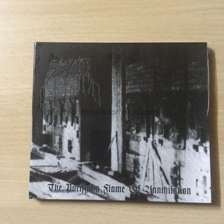 "SZRON ""The purifying Flame of Annihilation"" Digipack CD"