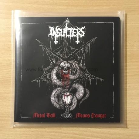 "INSULTERS ""Metal still means Danger"" vinyl sleeve CD"