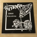 """OUTRAGE """"1985 Demo(n)s"""" 12""""LP"""