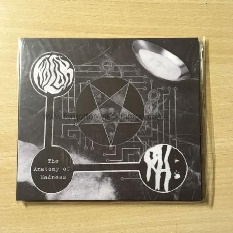 WOLOK/ROTTING HEAVEN split digipack CD