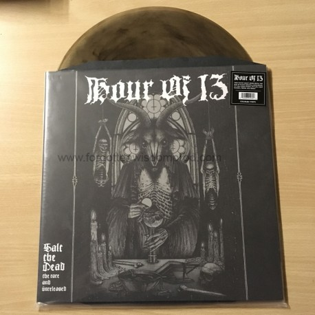 """HOUR OF 13 """"Salt The Dead: The Rare And Unreleased"""" 2x12""""LP"""