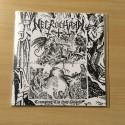"""NECROCHAKAL """"Trampling The Holy Gospels"""" 7"""" EP"""
