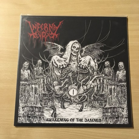 "INFERNAL CURSE ""Awakening of the Damned"" 12""LP"