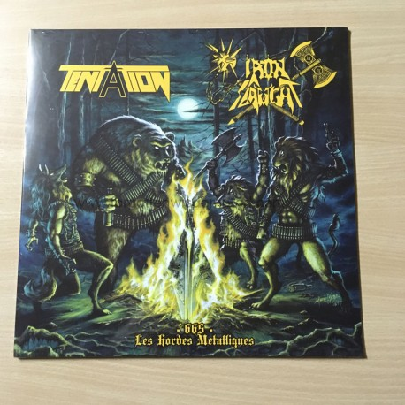 "TENTATION/IRON SLAUGHT split 12""LP"