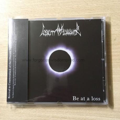 """INSANITY OF SLAUGHTER """"Be At Loss"""" CD"""