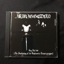 "ARMAGGEDON ""SH 666"" CD"
