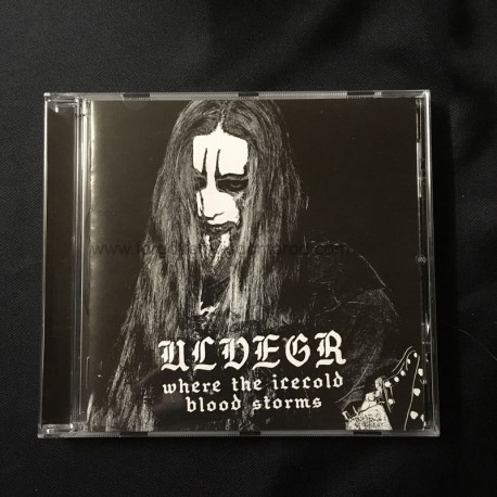 """ULVEGR """"Where the Iceblood Blood Storms"""" CD"""