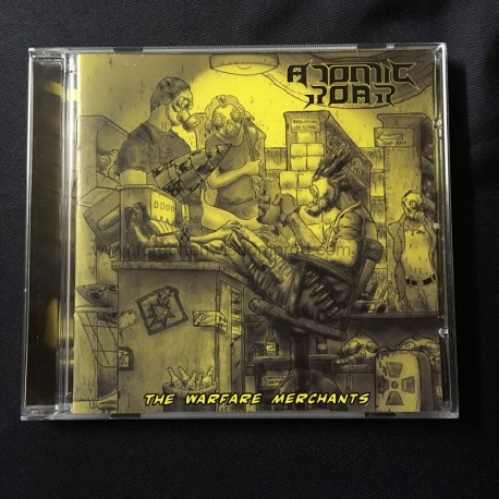 """ATOMIC ROAR """"Warfare Merchants"""" CD"""