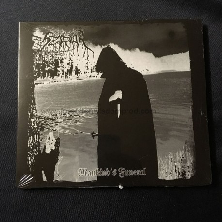 "SZRON ""Mankind's Funeral"" Digipack CD"