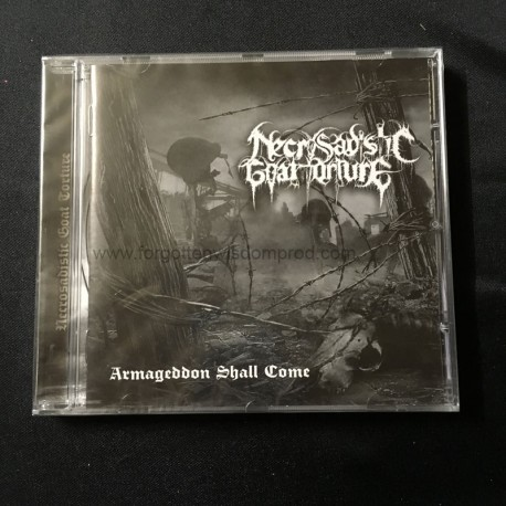 "NECROSADISTIC GOAT TORTURE ""Armageddon Shall Come"" CD"