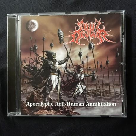 "SOUL DEVOUR ""Apocalyptic Anti-Human Annihilation"" CD"
