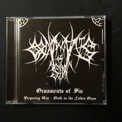 "ORNAMENTS OF SIN ""Preparing for War"" CD"