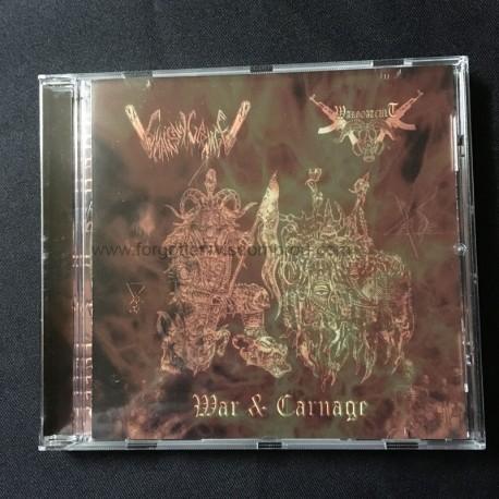 CHAINSAW CARNAGE/WARGOATCULT split CD