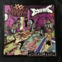 "COFFINS/XXX MANIAK split 12""LP"