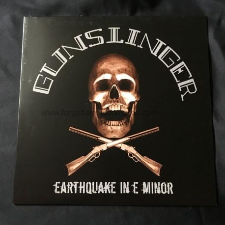 """GUNSLINGER """"Earthquake in E-Minor"""" 12""""LP"""