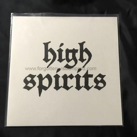 """HIGH SPIRITS """"High Spirits"""" 12""""LP"""