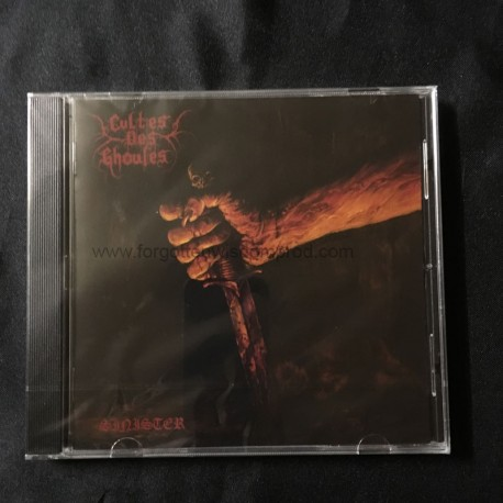 """CULTES DES GHOULES """"Sinister, or treading the darker Paths"""" CD"""