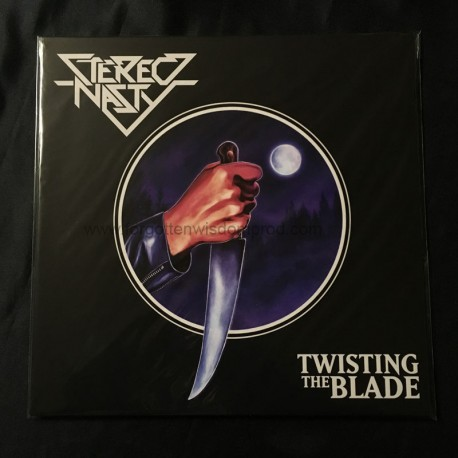 """STEREO NASTY """"Twisting the Blade"""" 12""""LP"""