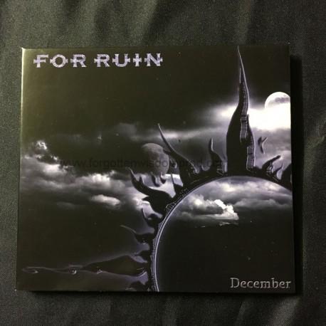 """FOR RUIN """"December"""" Digipack CD"""