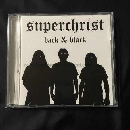 """SUPERCHRIST """"Back & Black"""" CD"""