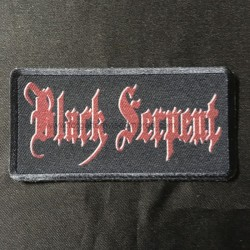 BLACK SERPENT logo patch