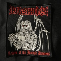 BLASPHEMY return of the hooded demons patch