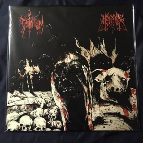 """HALSFANG/PESTIFERUM split 12""""LP"""