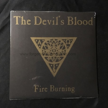 """THE DEVIL'S BLOOD """"Fire Burning"""" 7""""EP"""