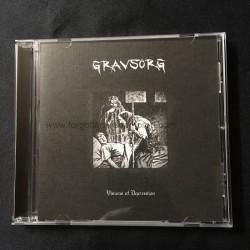 "GRAVSORG ""Visions of Depression"" CD"