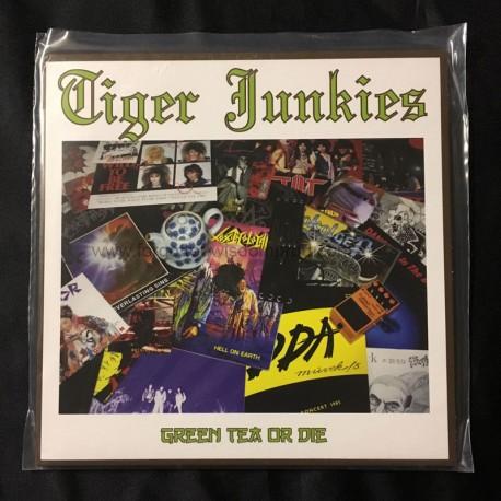 """TIGER JUNKIES """"Green Tea or Die"""" 7""""EP"""